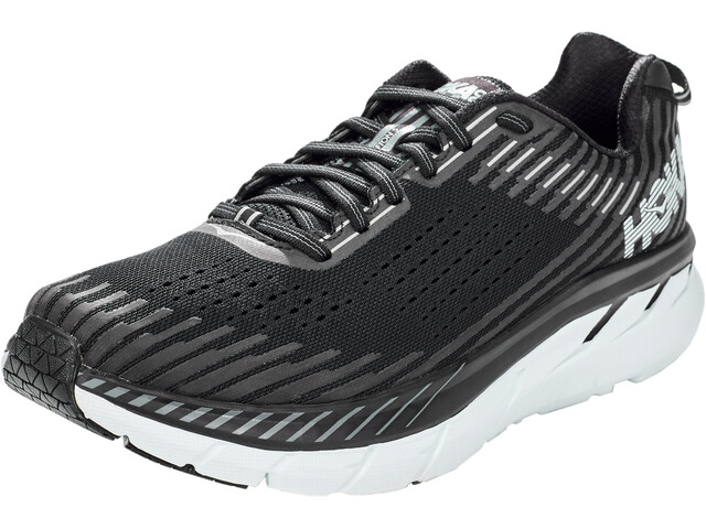 Hoka One One Clifton 5 Zapatillas running Hombre, black/white